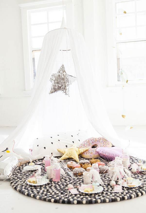 Pajama Party: 60 ideas to tear up the decor 5