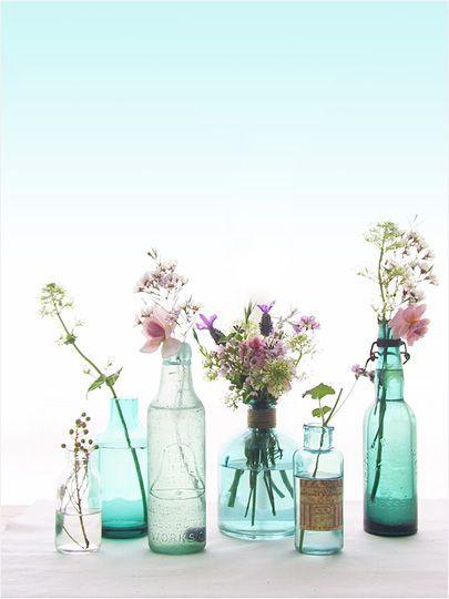 Table Top with Bottle: see beautiful ideas to decorate the table 17