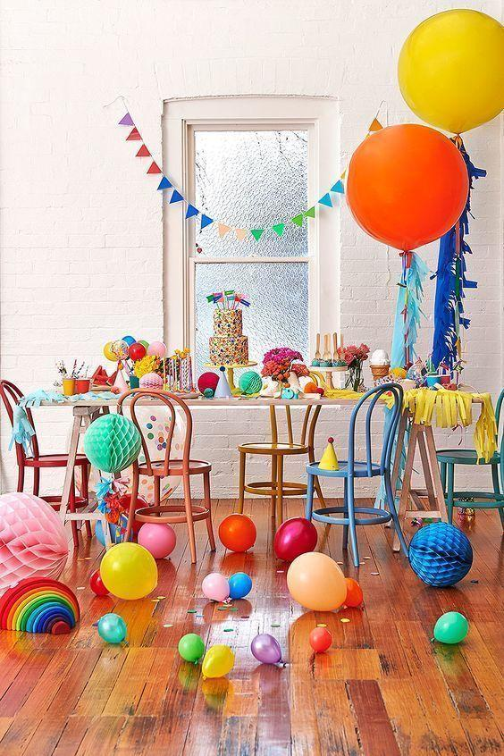 Decoration with balloons: 85 inspirations to decorate 40