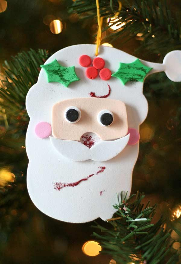 EVA Christmas Ornaments: 60 Ideas and How to Take Step by Step