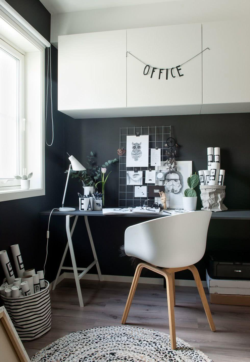 Black and white decoration: 60 ideas to inspire yourself 33