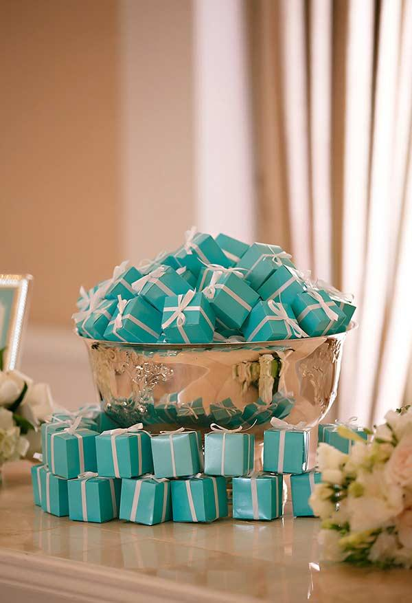 Tiffany Blue Party Favor Boxes