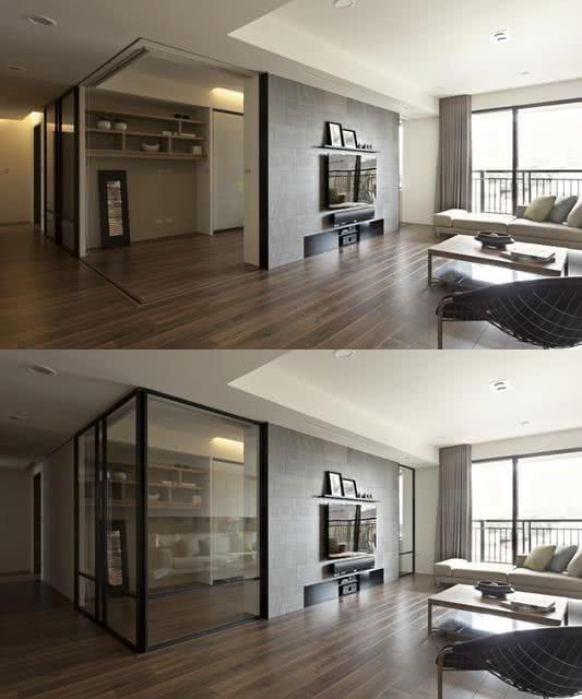 Sliding door: advantages of using and projects with photos 27