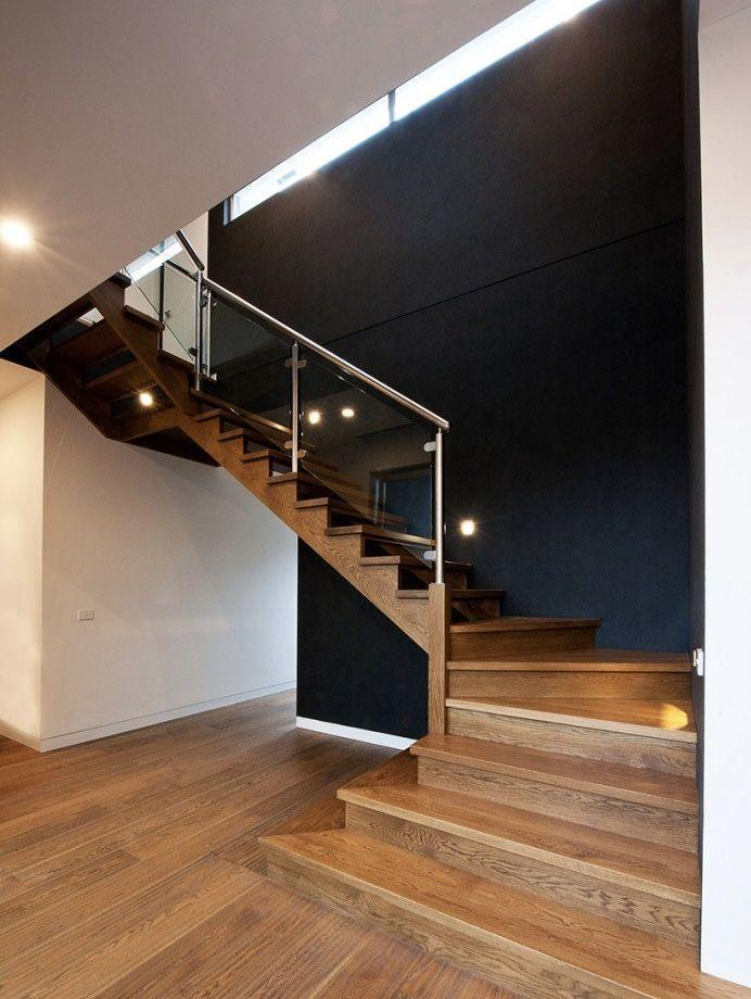 Stainless steel handrail: see tips and 60 models with photos 50