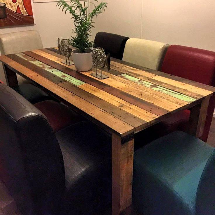 Pallet table: 45 model inspirations and how to make your 6