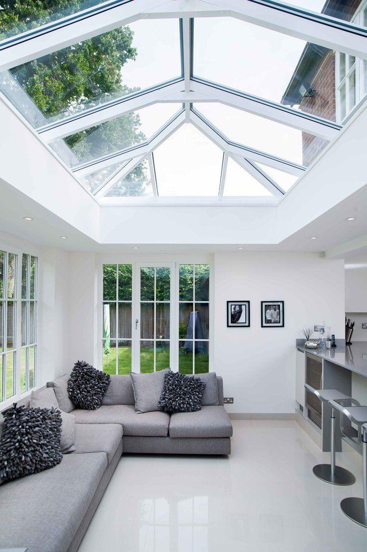 Glass roof: advantages, 60 photos and ideas to be inspired 30