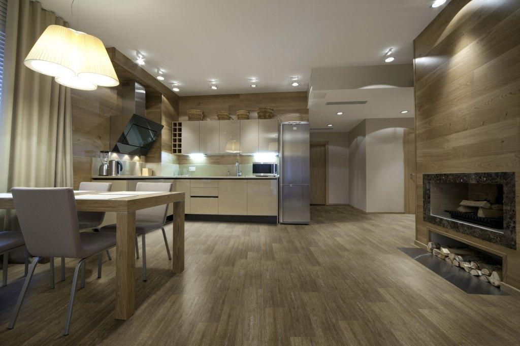 Wood carpet: advantages, prices and 50 photos of projects 31