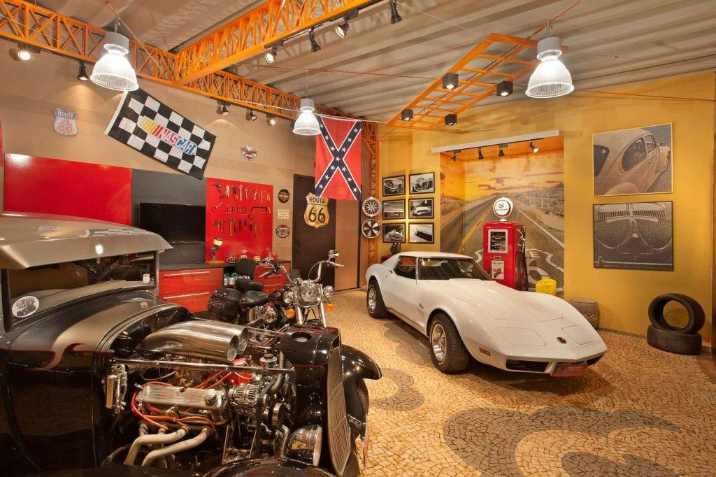Garage floor: see the main types and ideas to be inspired 16