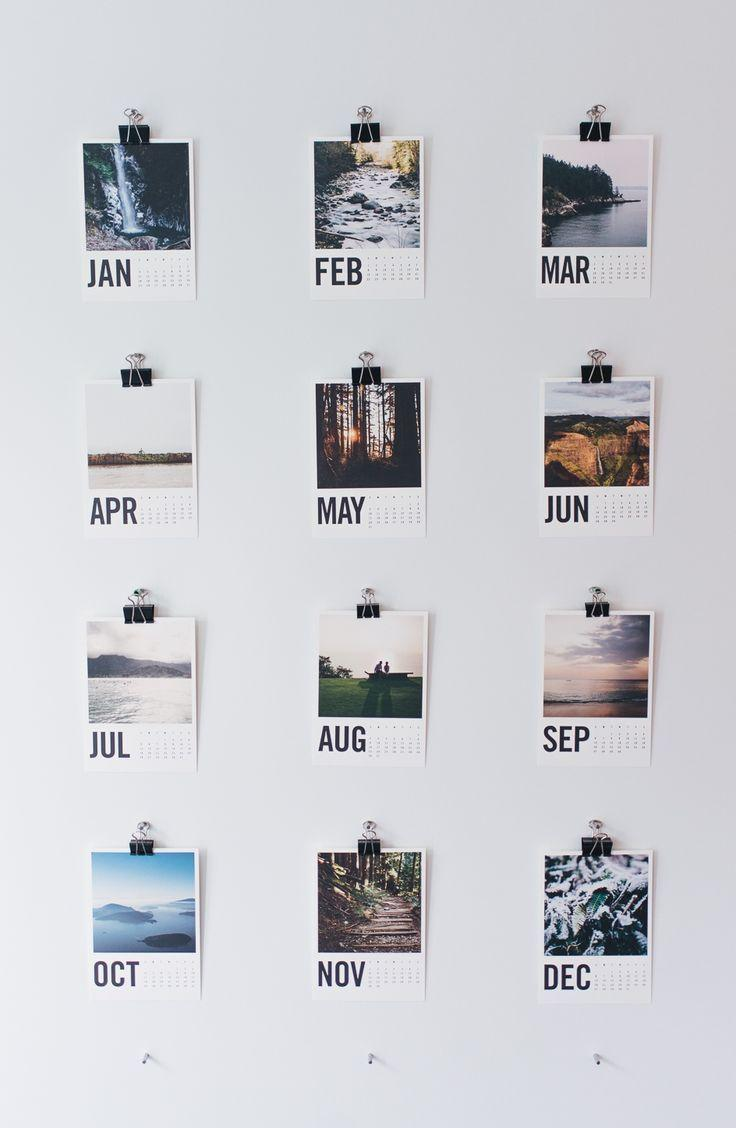Your own calendar with your favorite photos
