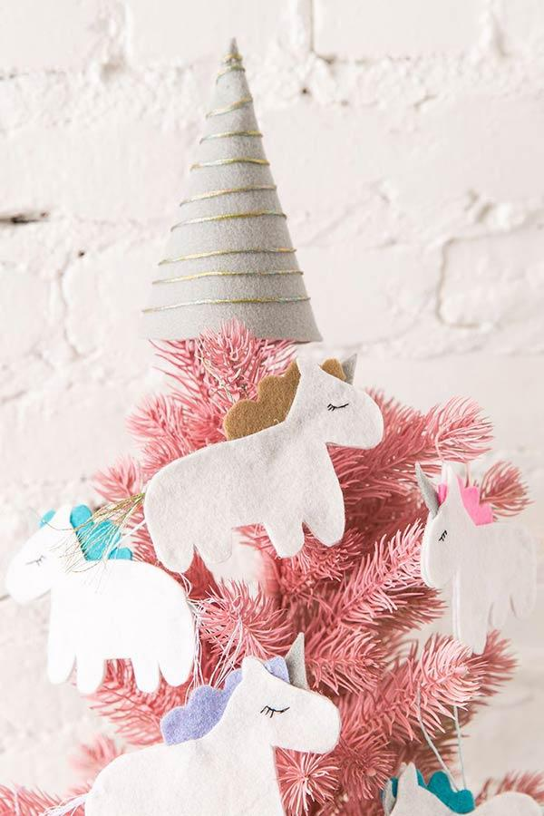 Unicorn Horn for a more enchanted Christmas