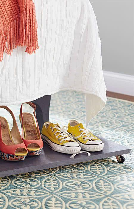 60 ideas and tips on how to organize shoes 53