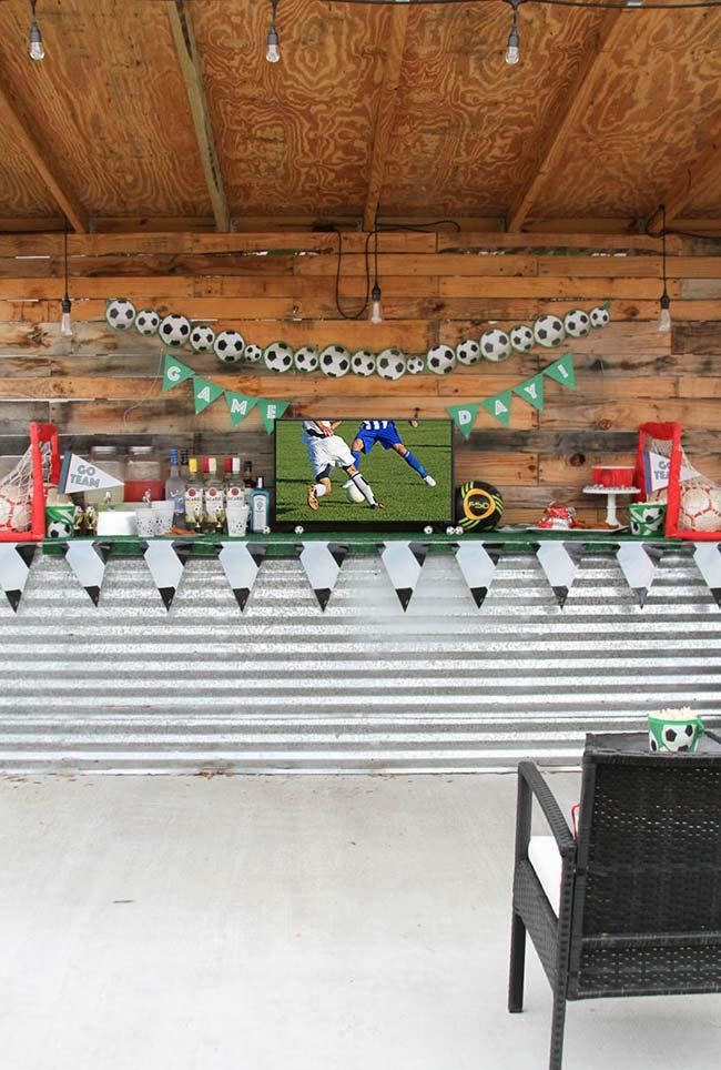 Bar and football: a very Brazilian duo in World Cup decoration