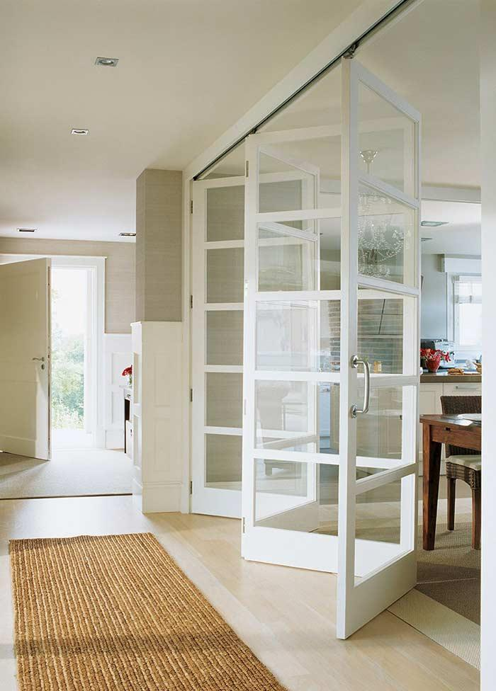 Glass door: 60 ideas and projects to be inspired 7