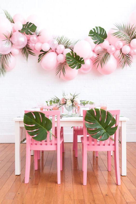 Decoration with balloons: 85 inspirations to decorate 47