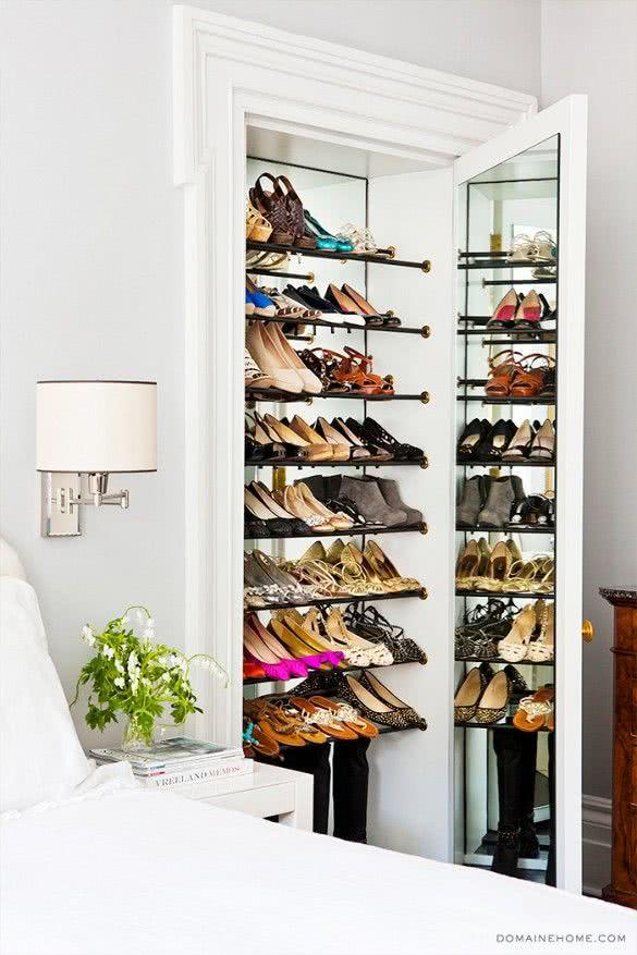 60 ideas and tips on how to organize shoes 36