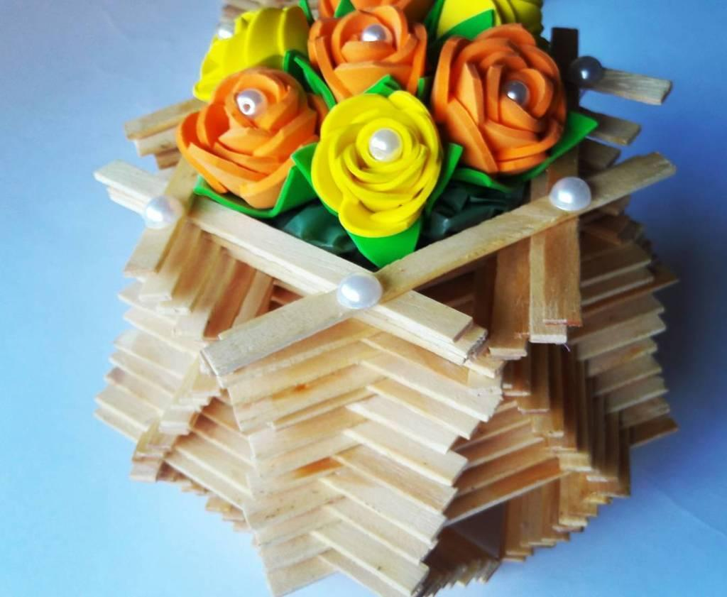 EVA Flowers: 70 ideas, templates and step by step 64