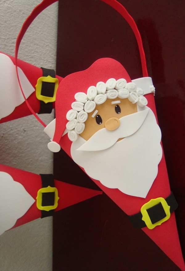 EVA Christmas Ornaments: 60 Ideas and How to Make It Step by Step 15