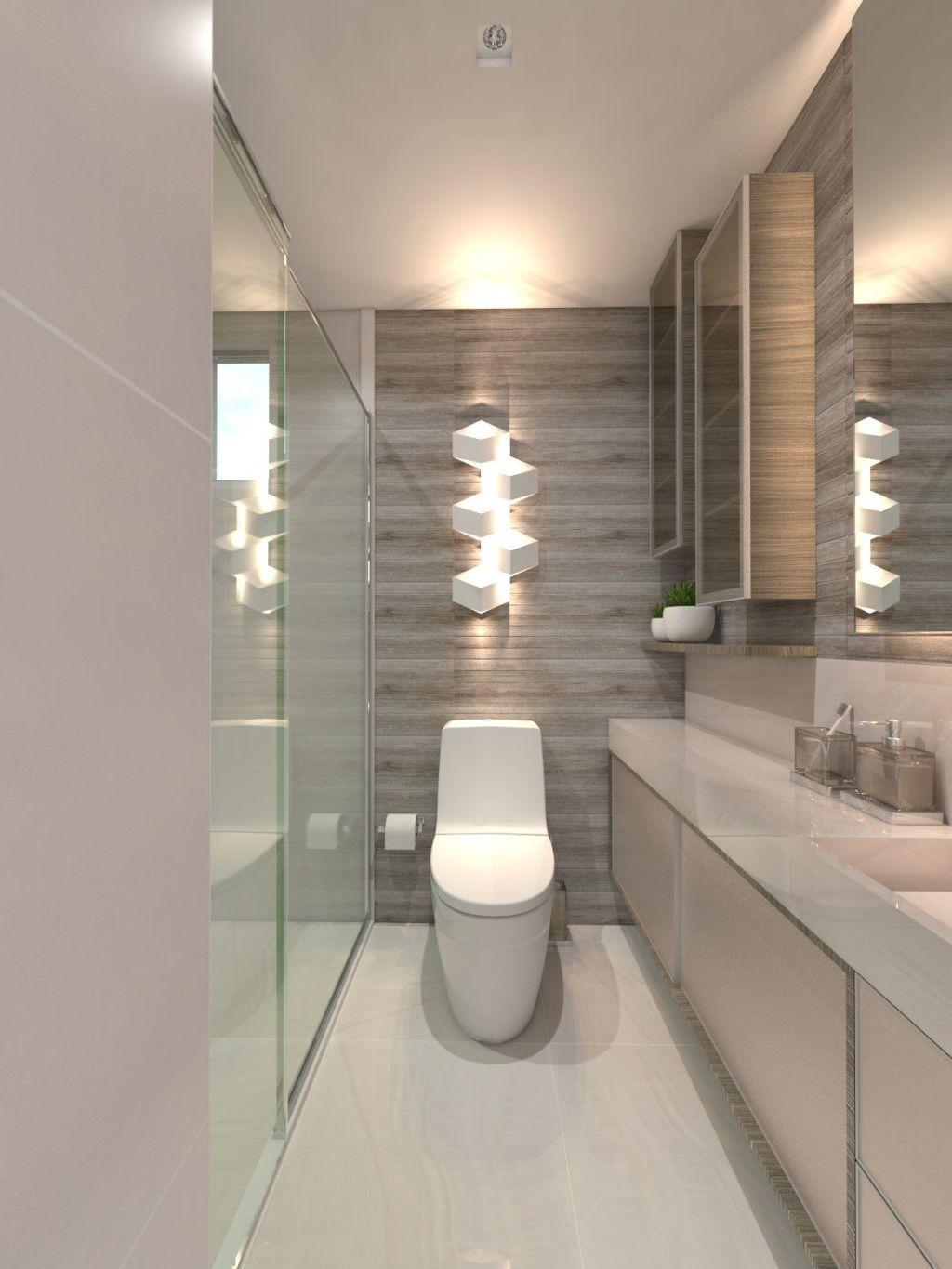 Bathroom Finishing: Types, Models and Photos 5