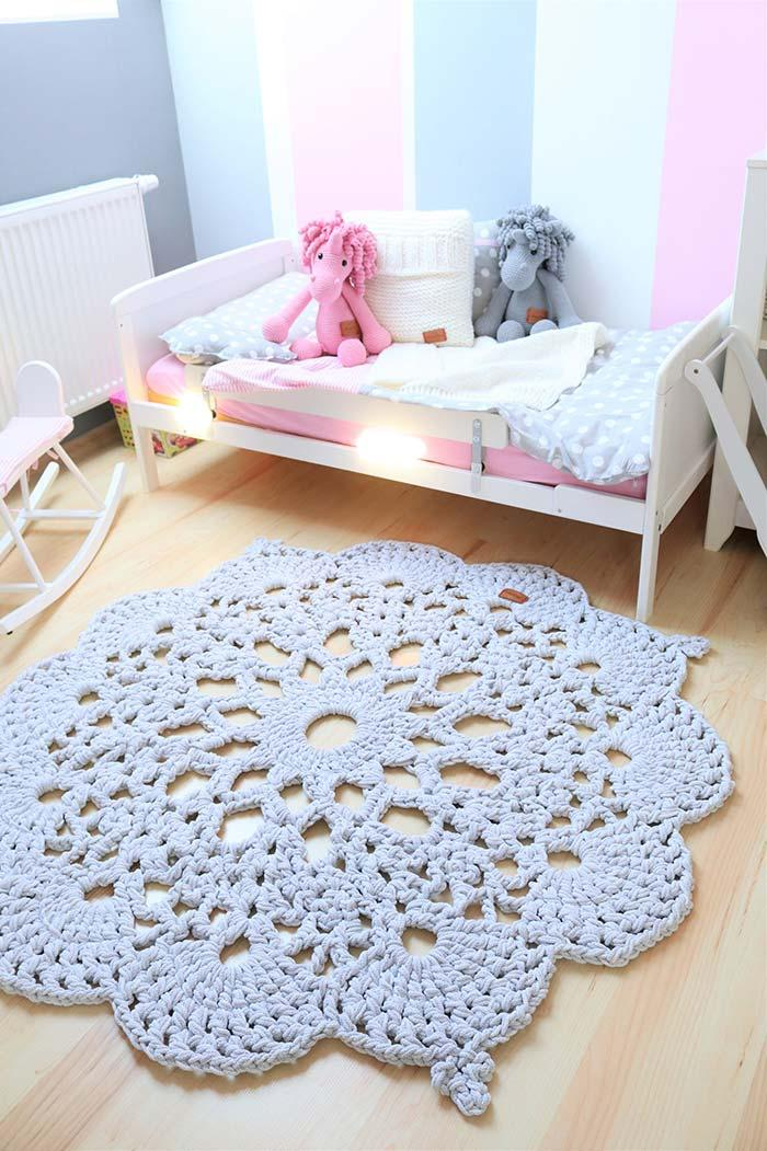 Crochet rugs to choose from