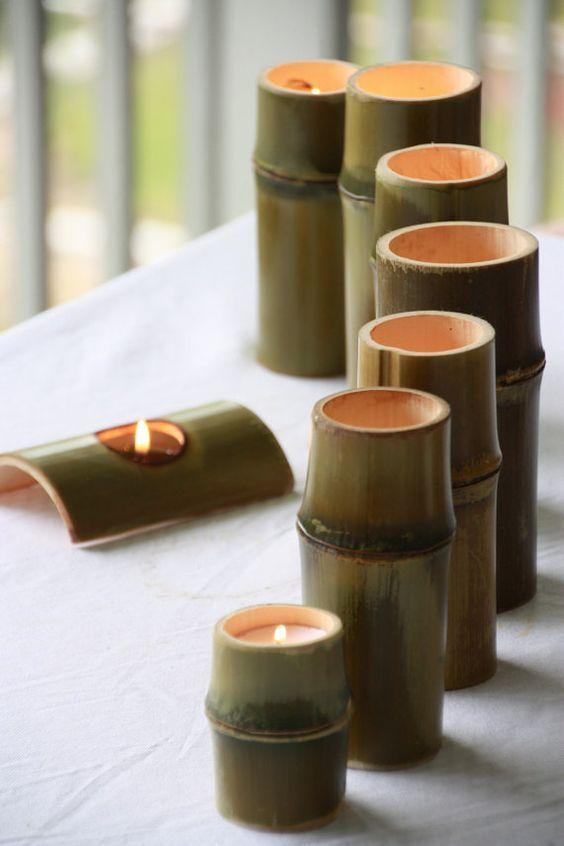 Bamboo Crafts: 60 models, photos and step by step DIY 30