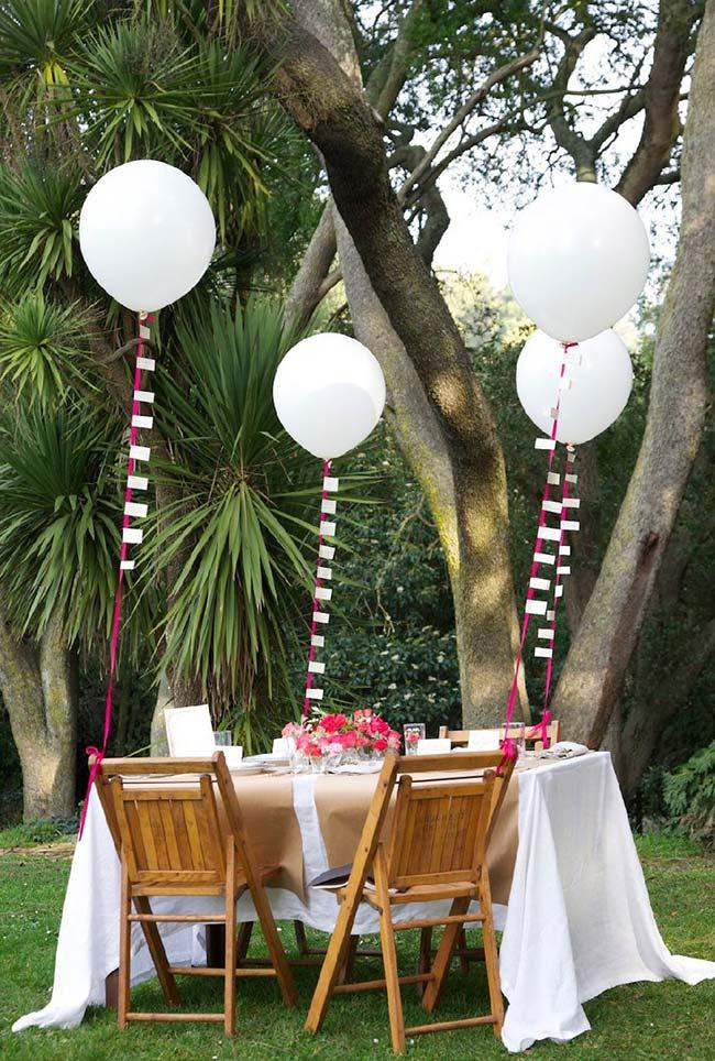 Simple Outdoor Engagement Party