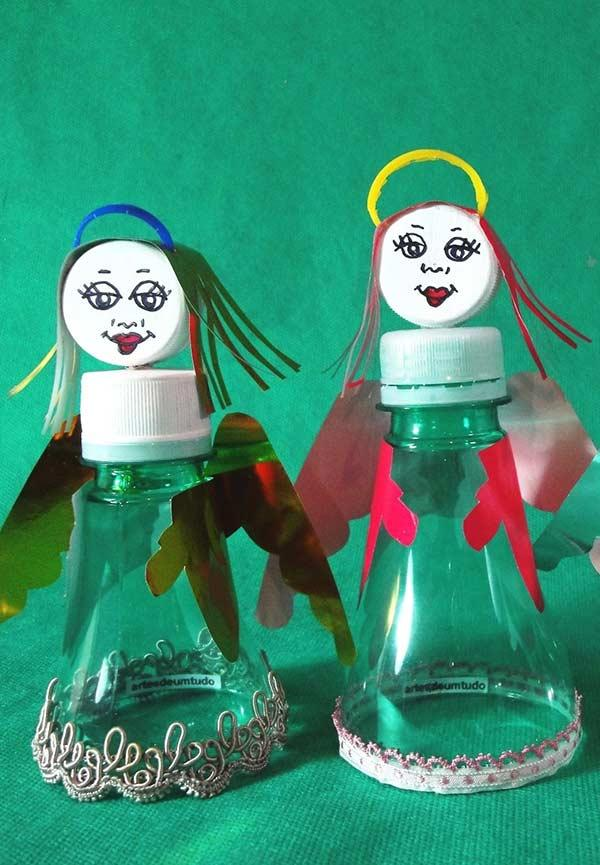 Little angels in recycling style