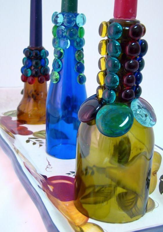 Glass Bottle Craft: 80 Awesome Tips and Photos 72