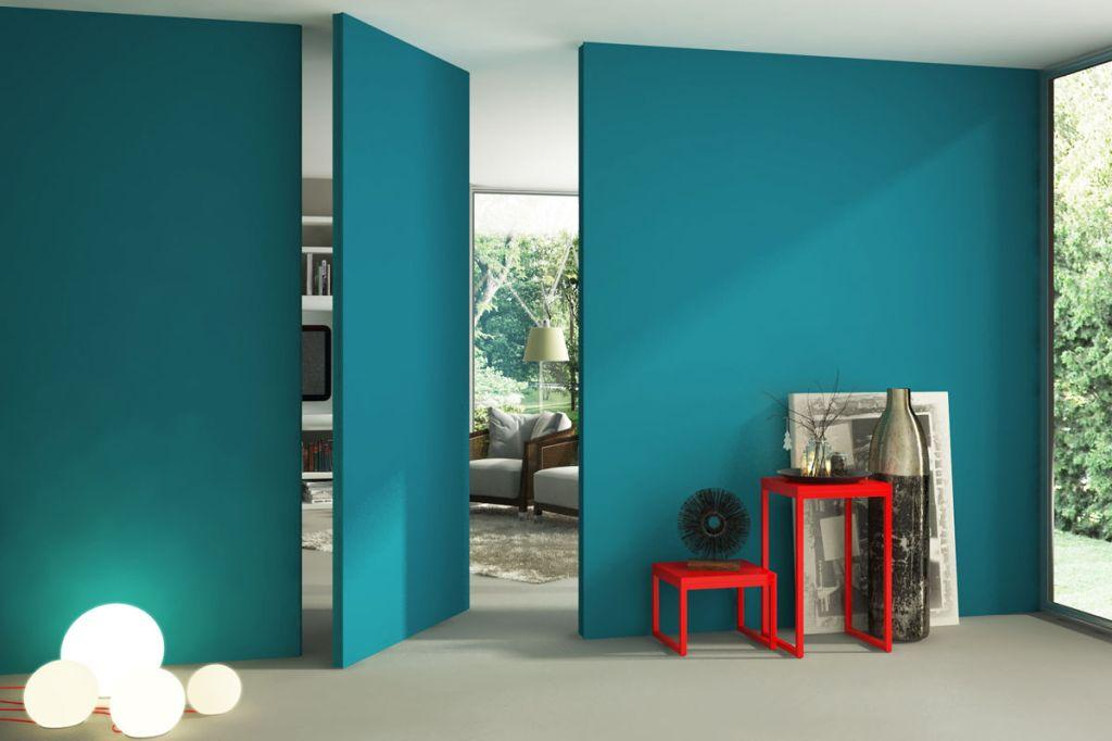 Use the color to highlight a wall