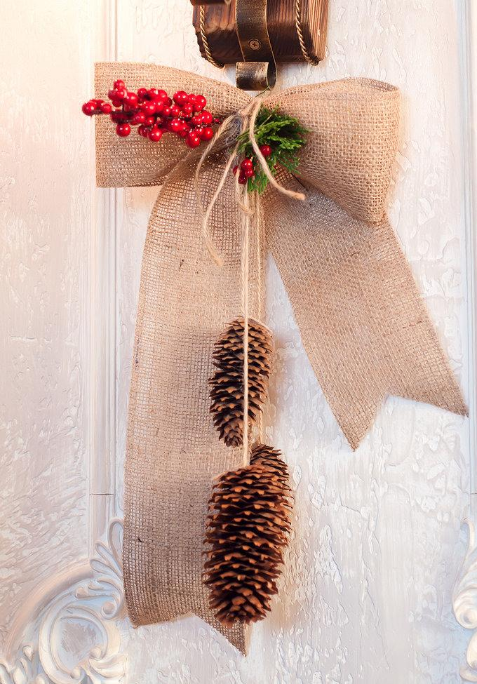 Simple and inexpensive Christmas decoration: 60 perfect ideas to inspire 11