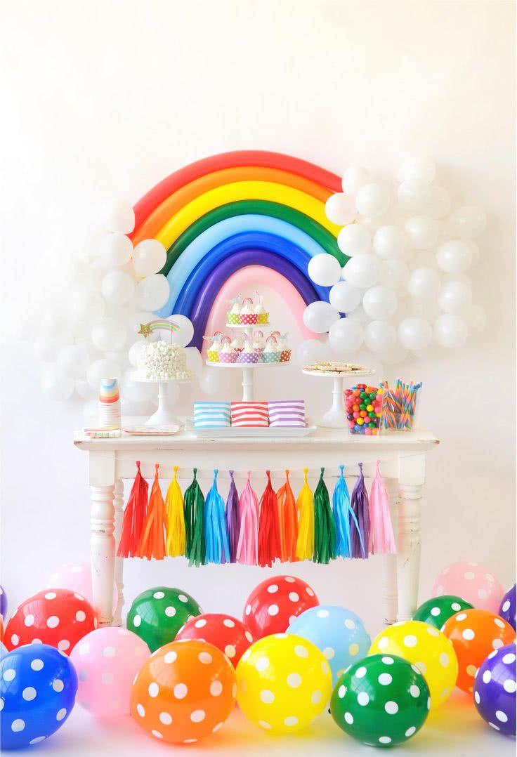 Decoration with balloons: 85 inspirations to decorate