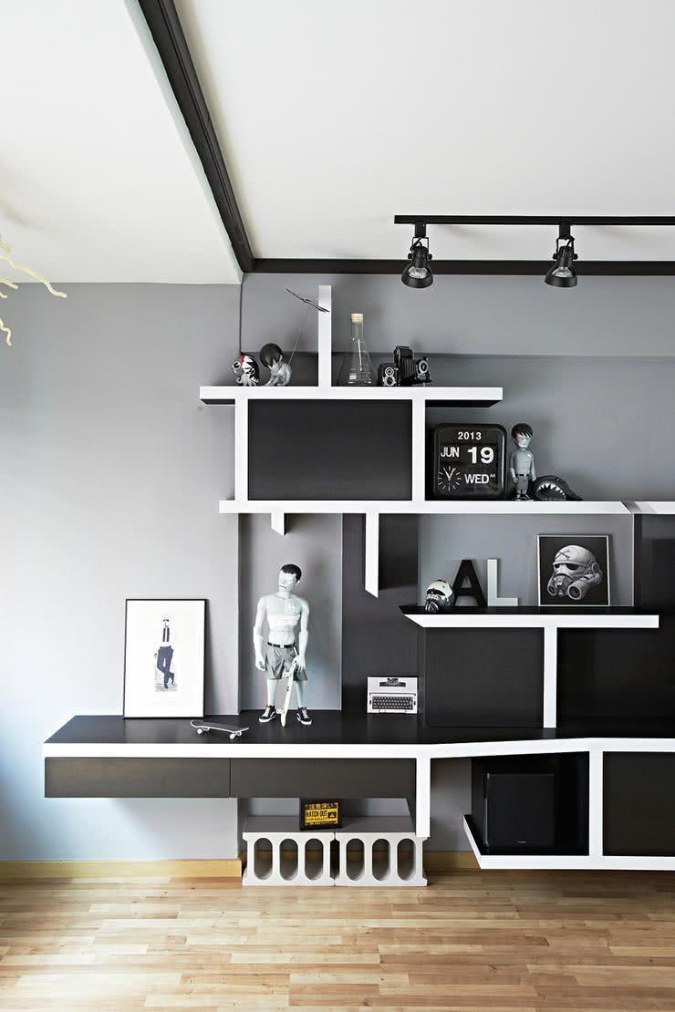 Creative Shelves: 60 Modern and Inspiring Solutions 15