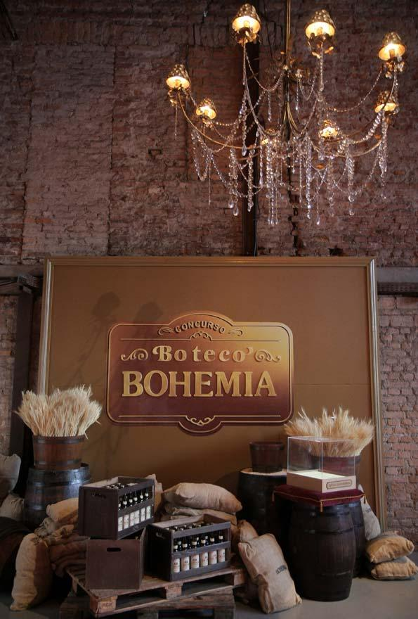 Bohemian decoration for party booth