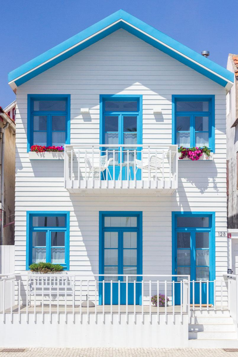 Colors of houses: trends and photos for exterior painting 34