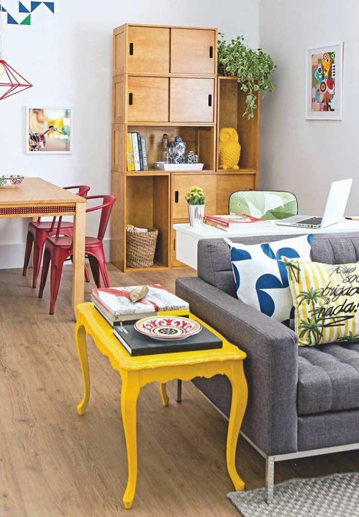 Match the floor with the joinery