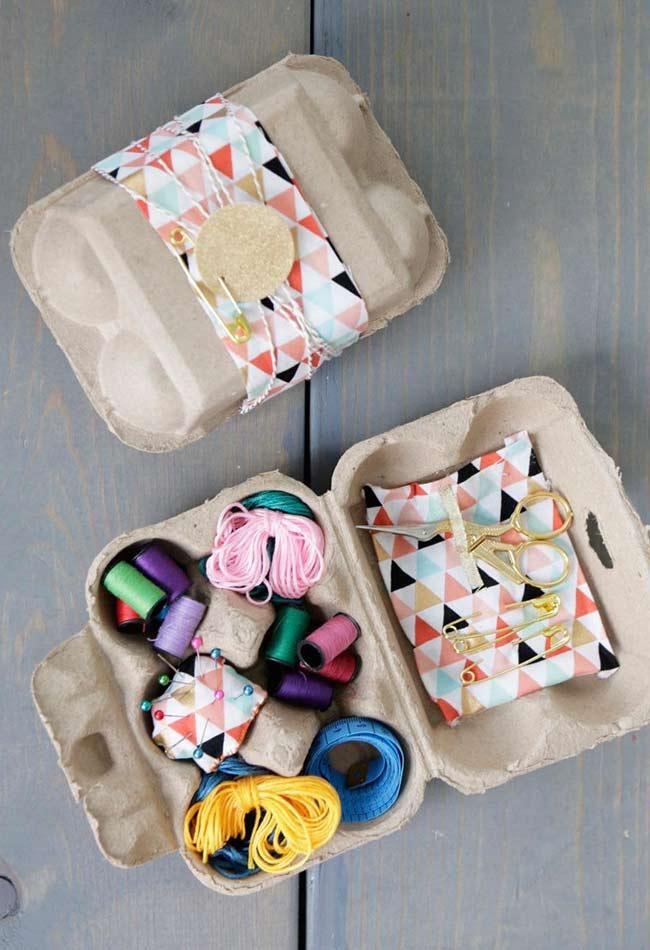Craft Box with Egg Carton