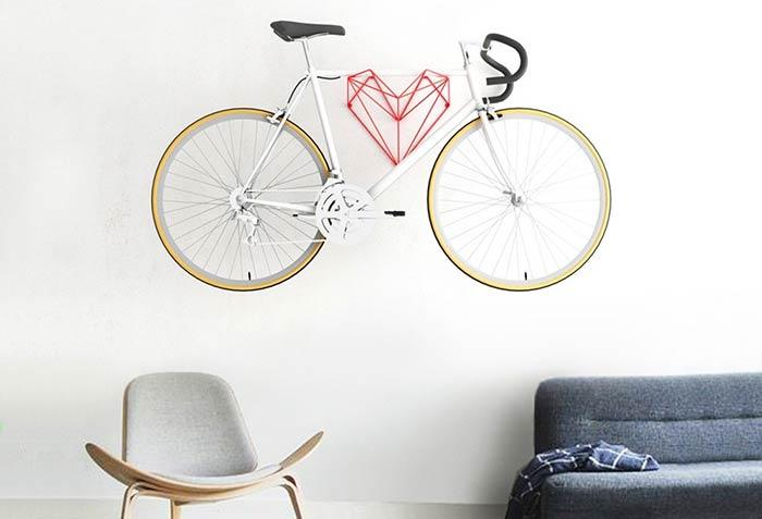 Bicycle for hanging