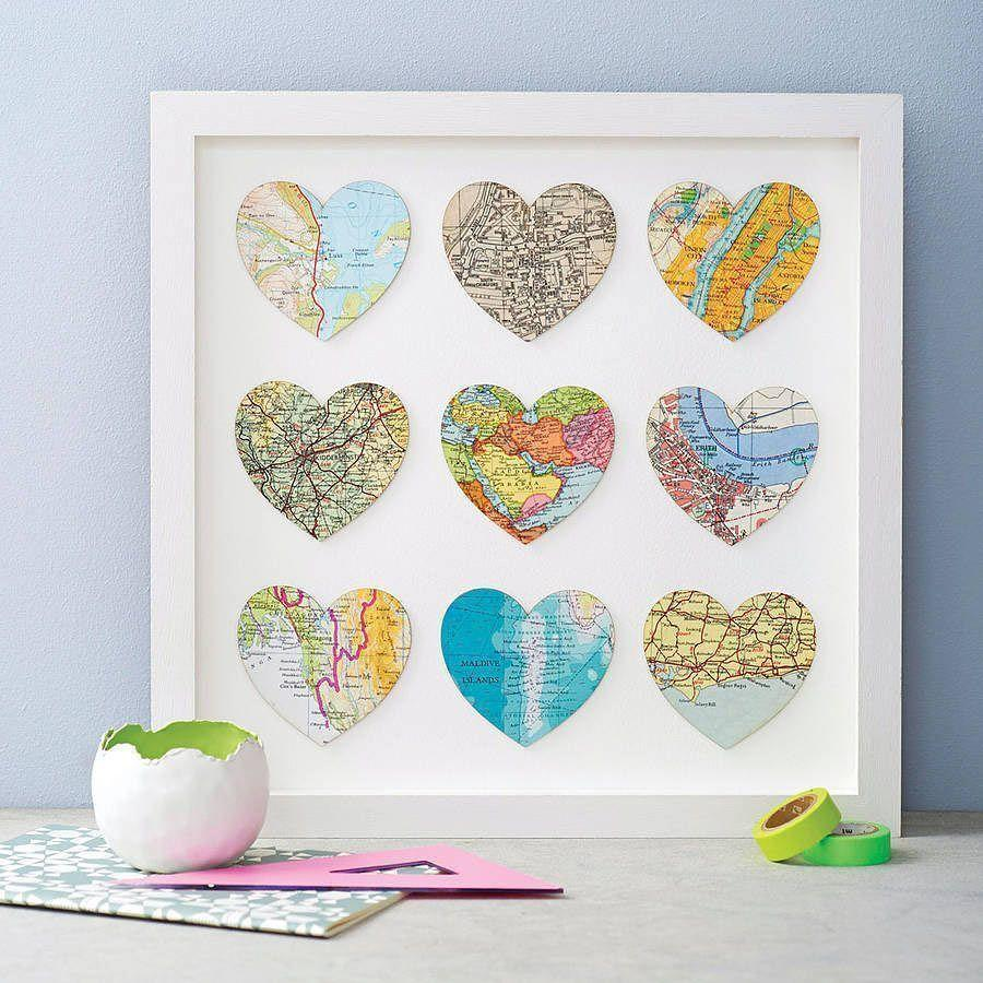 How to make handmade pictures: templates, photos and step-by-step 52