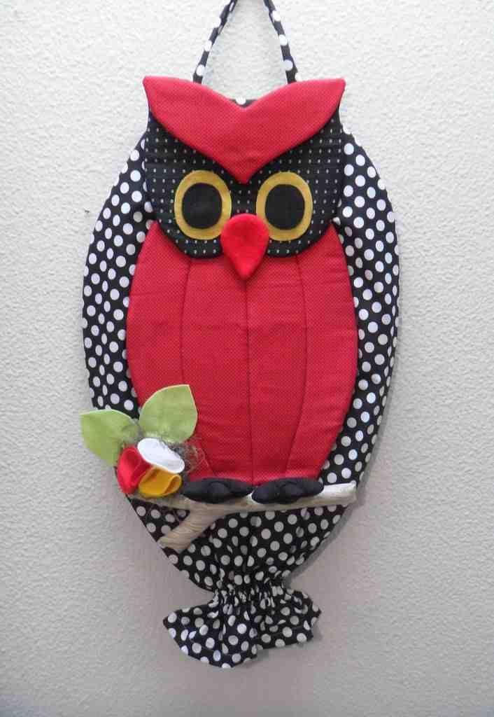 Owl bag pull: 60 ideas with photos and video step by step 4