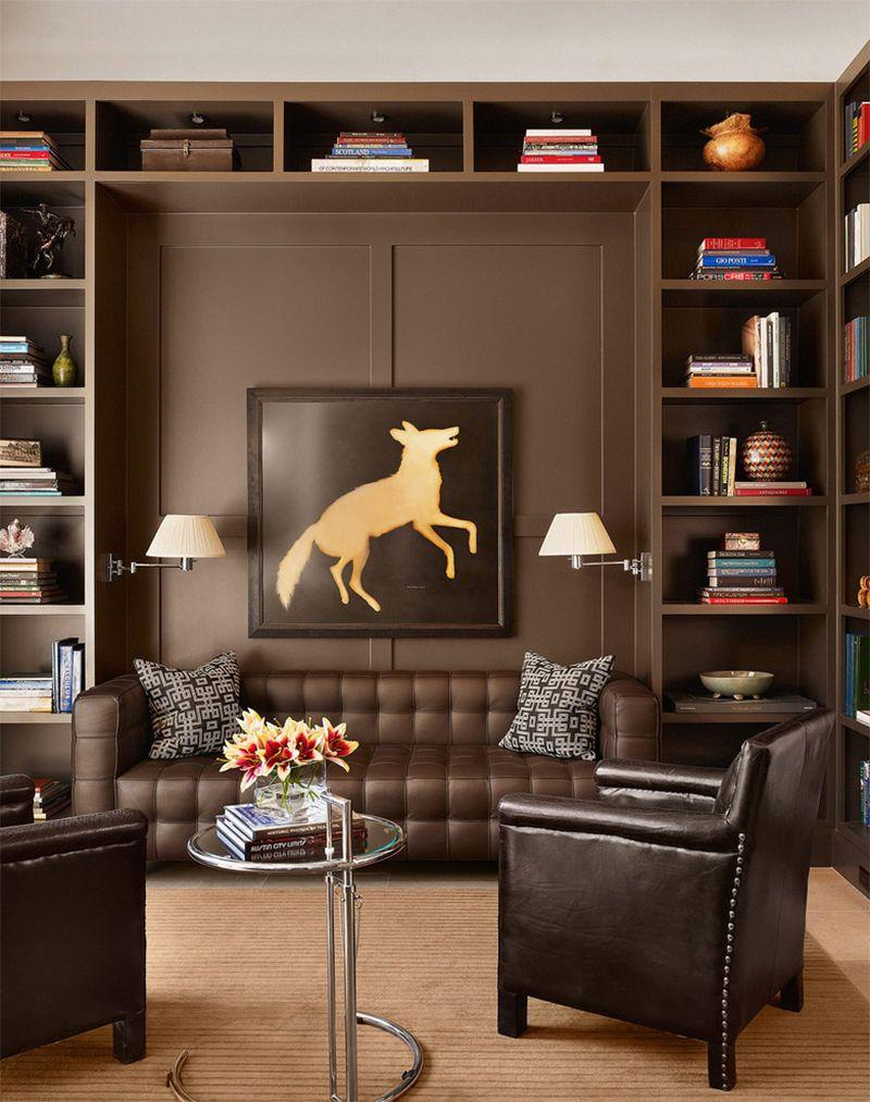 Leather sofa: 70 incredible models to decorate environments 9