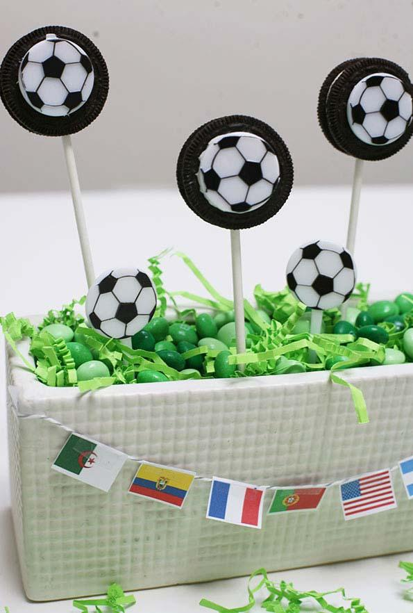 Ball decoration for party World Cup