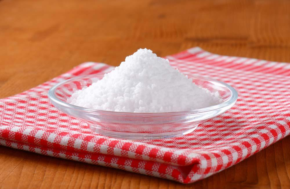 How to make softener with coarse salt