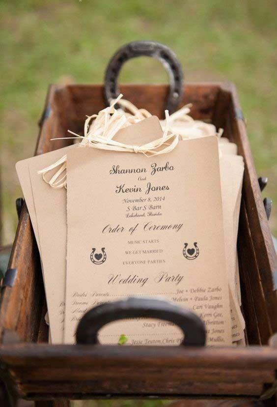 Country wedding: everything to decorate with this style of ceremony 5