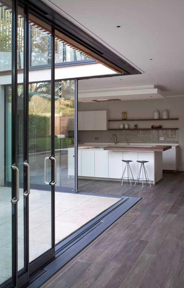 Glass door: 60 ideas and projects to inspire 15