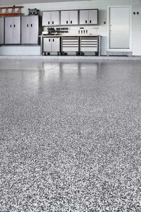 Garage floor: see the main types and ideas to be inspired 29