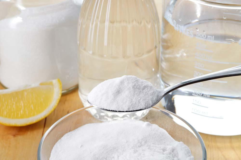 How to make softener with vinegar and bicarbonate