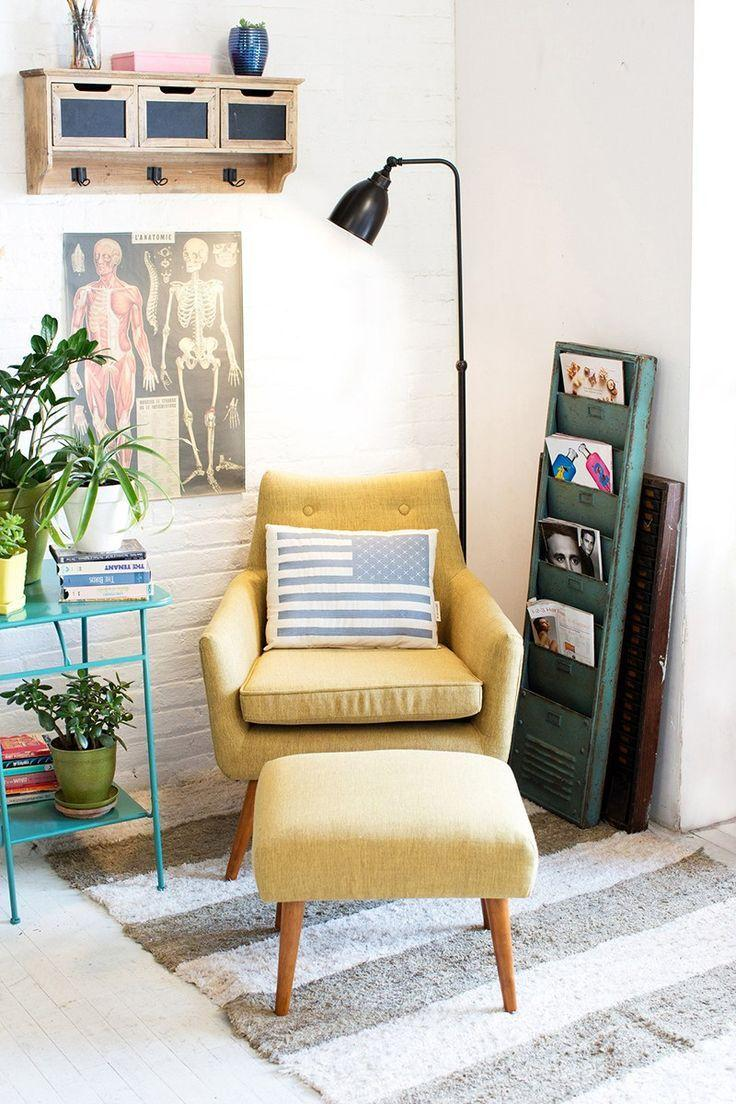 Corner of reading: 60 decorating ideas and how to do 27
