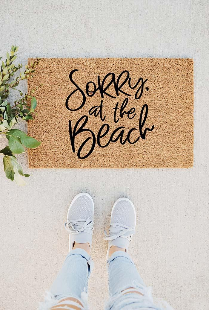 Fun doormats: welcome to brighten your home 1