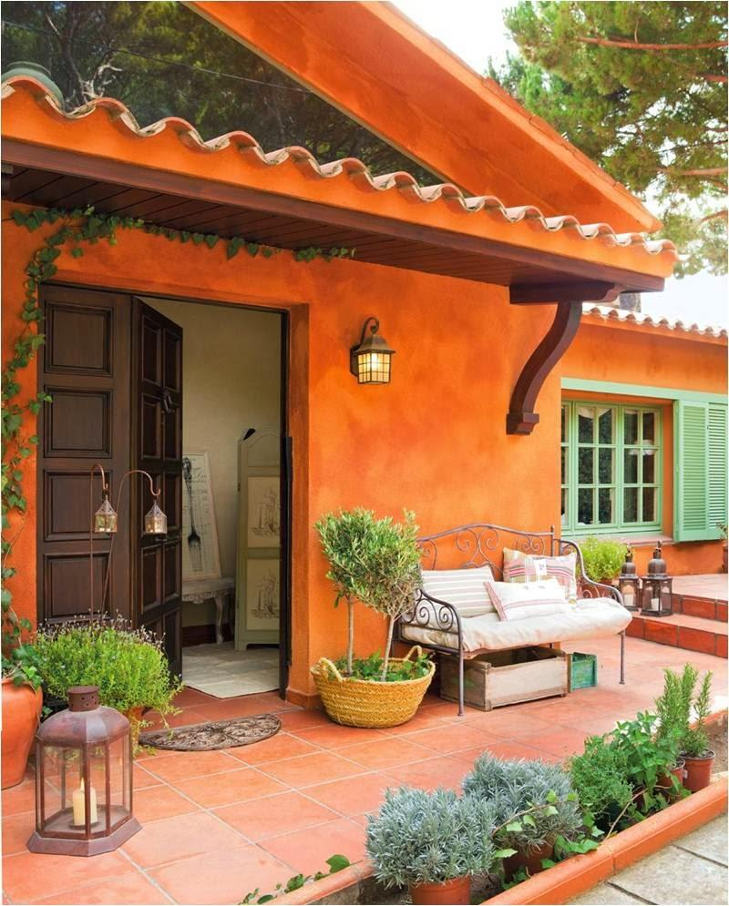Colors of houses: trends and photos for exterior painting 39