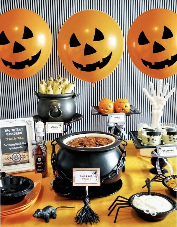 Halloween Party: 60 decorating ideas and theme 20 photos