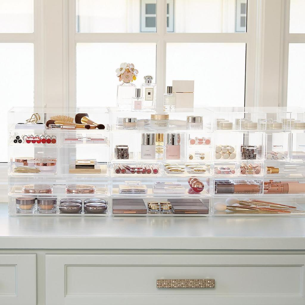 Makeup table: 60 ideas to decorate and organize 44